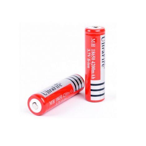 2x Ultrafire 18650 Batterien